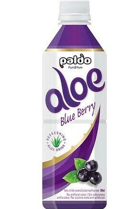 팔도 알로에 블루베리 500ml, Bebida Aloe sabor de mirtilo