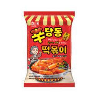 해태 신당동 떡볶이 스낵 110g, Snack Sindang-dong Tteokbokki