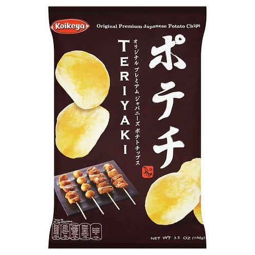 100g, 감자튀김 데리야끼맛(일본), Japaones Batata frita (sabor teriyaki)