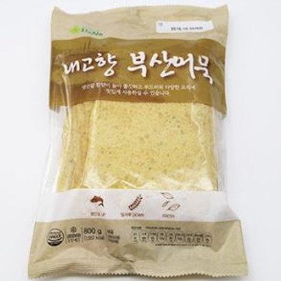 하나 내고향 부산어묵 800g, Bolo de peixe quadrado-Busan 800g
