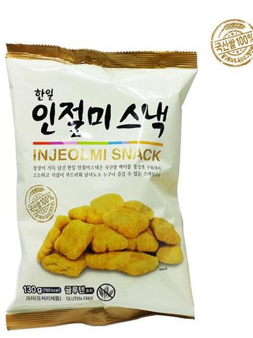 한일 국산쌀100%인절미스낵(130g), HANIL Injeolmi Snack 130g- Gluten Free