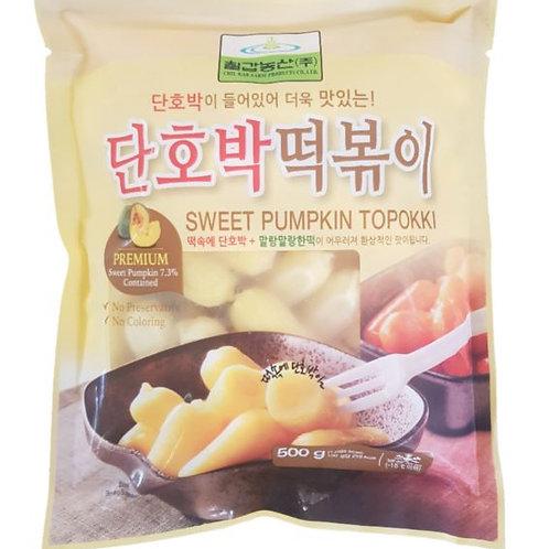 칠갑농산 단호박 떡볶이 500g, Tteokbokki com doce de abóbora
