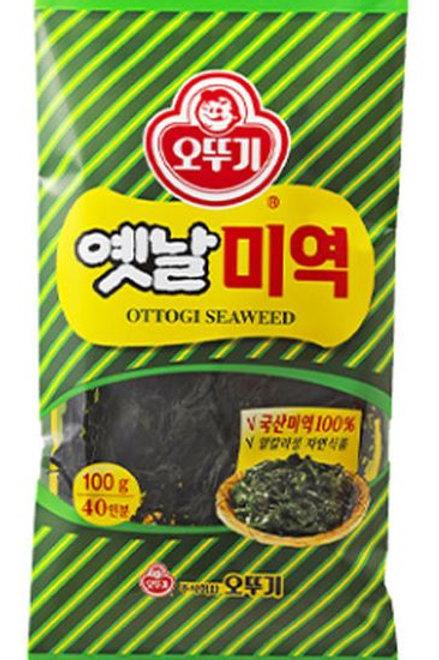 오뚜기 옛날 미역 100G, OTTOGI alga marinha seca wakame 100g