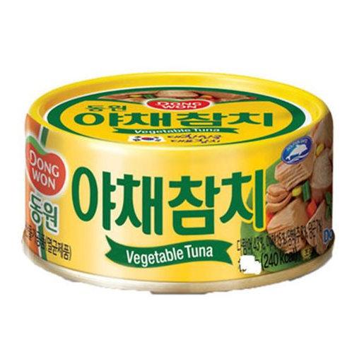 동원 야채참치 150g, Dongwon Atum com Vegetais