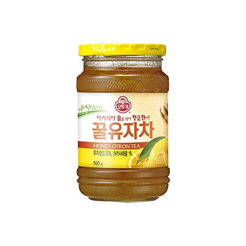 오뚜기 꿀유자차 500g, Chá de Yuza(asia limão)