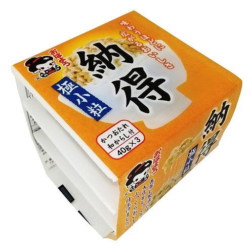 나또, Natto mini 3 congelado, Osato, 3x40g,