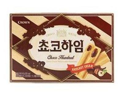 크라운 쵸코하임 47g, Choco Heim