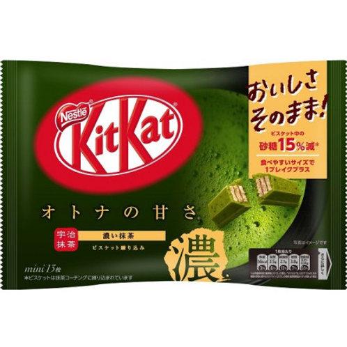 네슬레 키켓 말차맛 135g, Nestle KitKat Matcha 135G