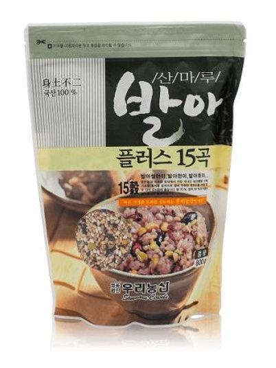 발아 플러스15곡 국산100% 800g, Germinação mais 15 grãos 100% coreano