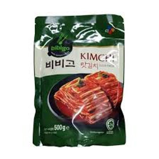 CJ 비비고 맛김치 500G, Baechu Kimchi fatiado 500g