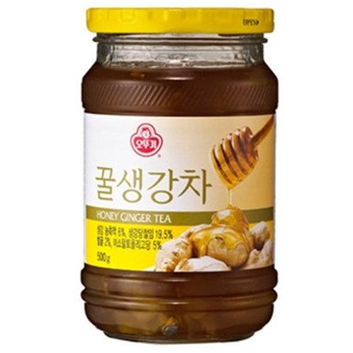 오뚜기 꿀생강차 500g, Chá de mel e gengibre