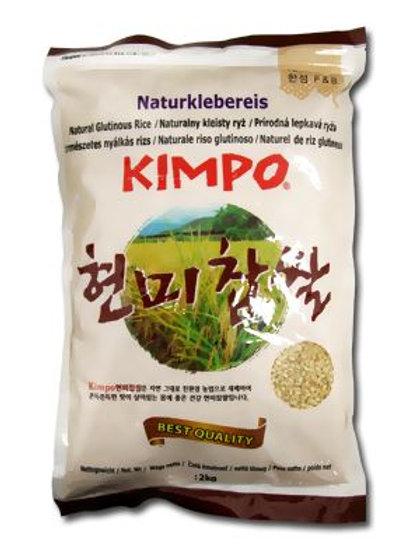 김포 현미찹쌀 2kg, Arroz Integral  Glutinoso de Gimpo