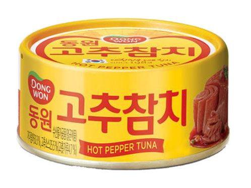 동원 고추참치 100g, Atum com malagueta