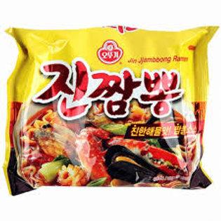 오뚜기 진짬뽕 130G,  ramen Jin Jjambbong