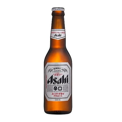330ml, 아사히맥주(일본),  Cerveja Asahi engarrafada