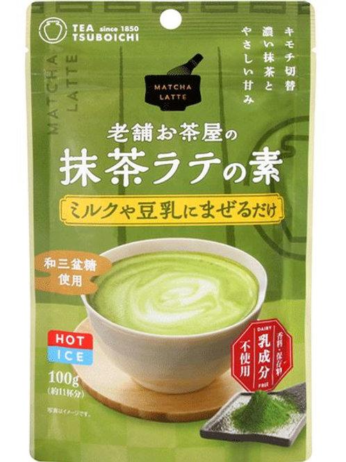 녹차 라떼 믹스 70g, Chá Matcha Latte mix 70g - Tsuboichi