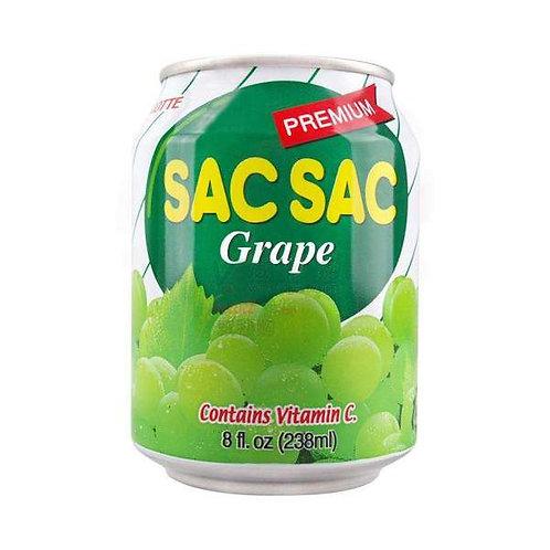 롯데 쌕쌕 포도 238ml, SAC SAC UVA (lata)238ml