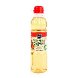 CJ 백설 2배사과식초 500ML, 2x vinagre de maçã 500ml