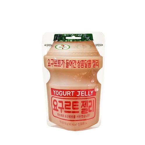 롯데 요구르트 젤리 50g, Geléia de iogurte