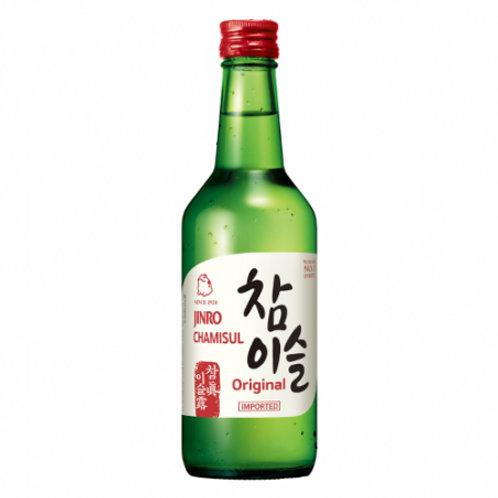 진로 소주 참이슬 오리지널 350ml, Soju Chamisul Originalalc.20.1%