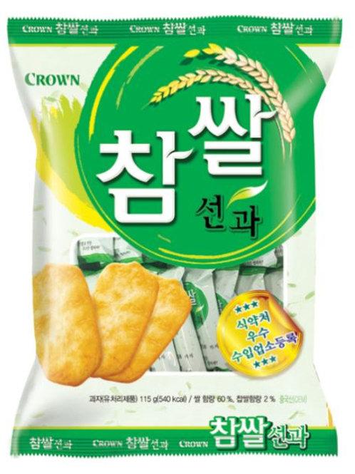 크라운 참쌀 선과 115g, Chamssal Seonkwa