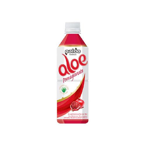 팔도 알로에 석류 500ml, Bebida Aloe sabor de romã