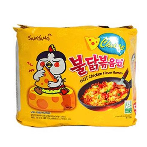 삼양 불닭볶음면 치즈 140g, Samyang Buldak Cheese ramen
