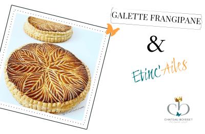 Etinc'Ailes : Galette frangipane