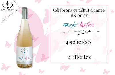 Célébrons ce début d'année en rosé