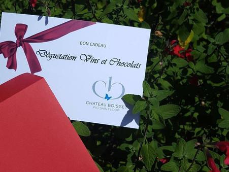 Dégustation vins et chocolats (offre spéciale noël)