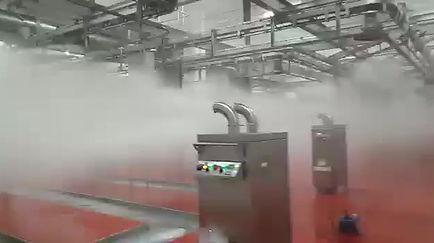 Aplicação da Névoa de Ozônio em Ambientes