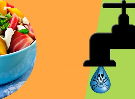 A ameaça dos pesticidas na água que bebemos