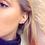 Thumbnail: Swirl Loop Earrings