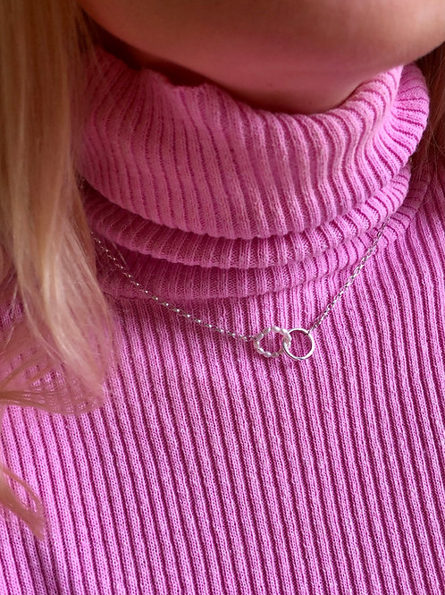 Pearl Hug Necklace