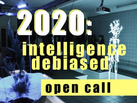 2020: open call
