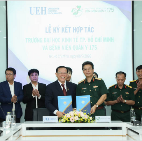 UEH & 175th Military Hospital Signed MOU - UEH & BV 175 ký kết MOU