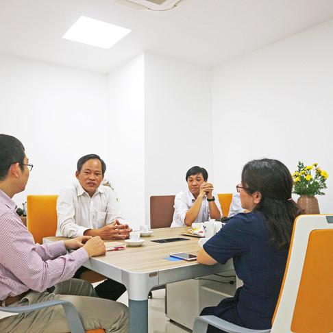 HAPRI & HCMC Statistical Office Discuss Partnership Opportunities - HAPRI Gặp gỡ Cục Thống kê HCM