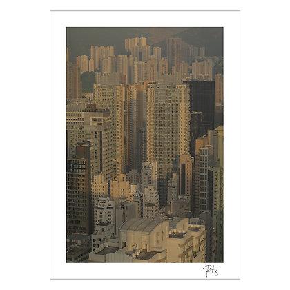 Print - ( 22.3193-¦ N, 114.1694-¦ E ) No Horizon   Rob Leung