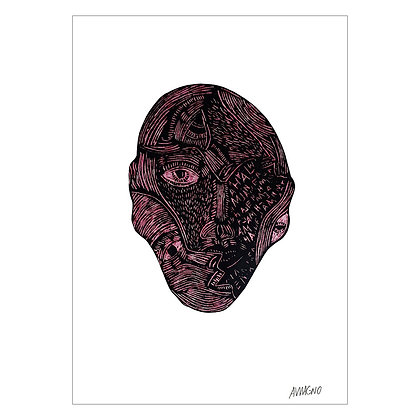 Anonymous, Masks series | Angelo Magno