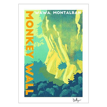 Monkey Wall | Diana Utlang