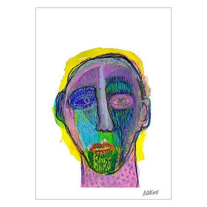 Malaise,Masks series   Angelo Magno