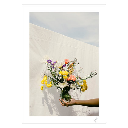 OF ALL THE FLOWERS, YOU | Arabella Paner