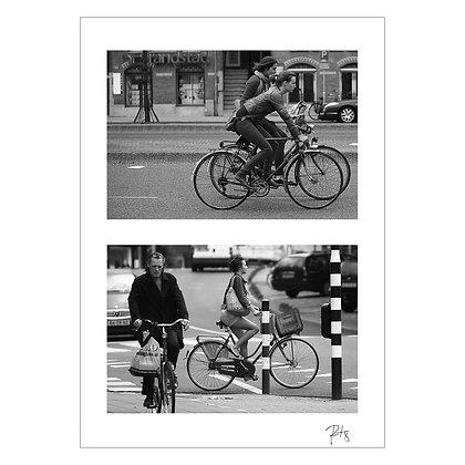 Print - ( 52.3667° N, 4.8945° E ) Where we going_   Rob Leung