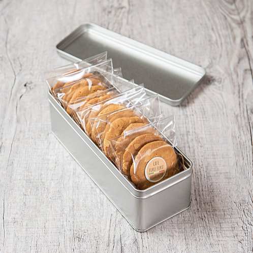 発酵バターのアーモンドクッキー缶