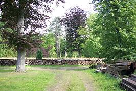 Réserve de bois à La Bourbelle