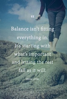 """""""Get your Balance On"""""""