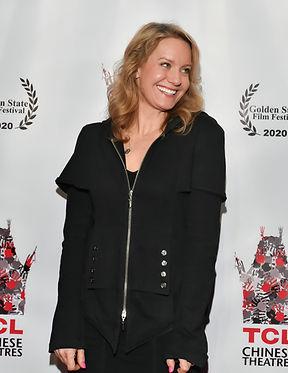 Eileen Grubba at Golden State Film Fest.