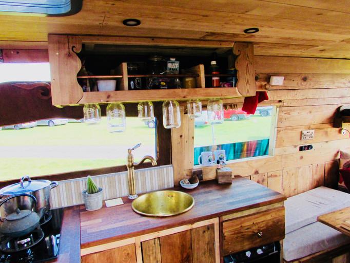 Quirky Campervan Kitchen