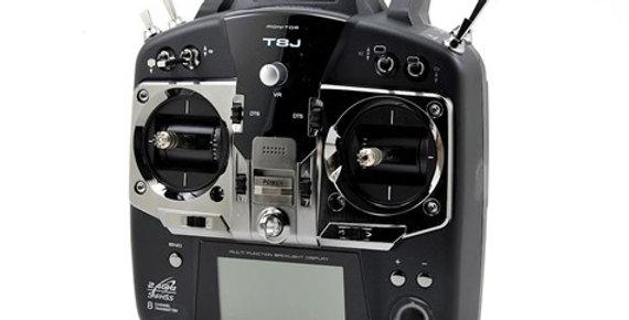 Futaba 8J 2.4GHz S FHSS 8 Channel Radio System (Heli) w/R2008SB Receiver