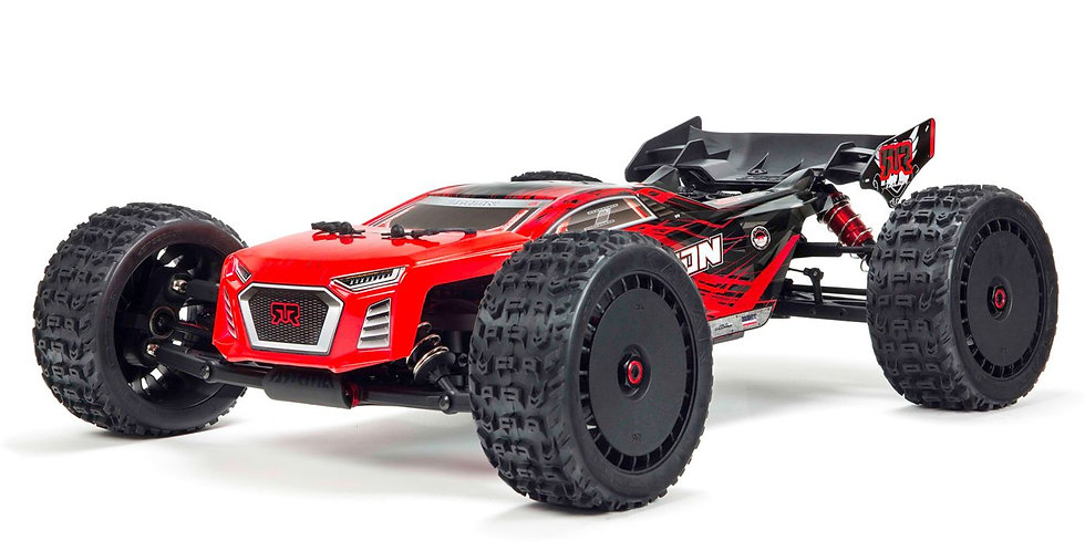 1/8 TALION 6S BLX 4WD Brushless Sport Performance Truggy with Spektrum RTR, Red/